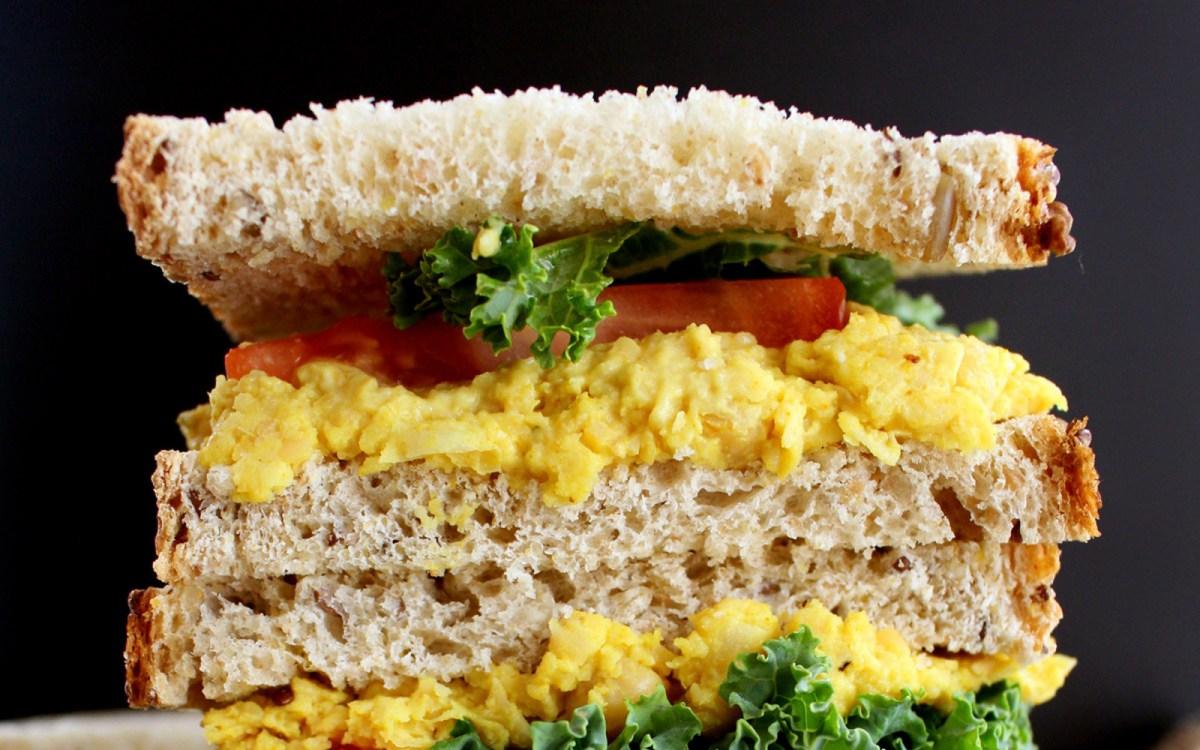 Turmeric Chickpea Sandwich
