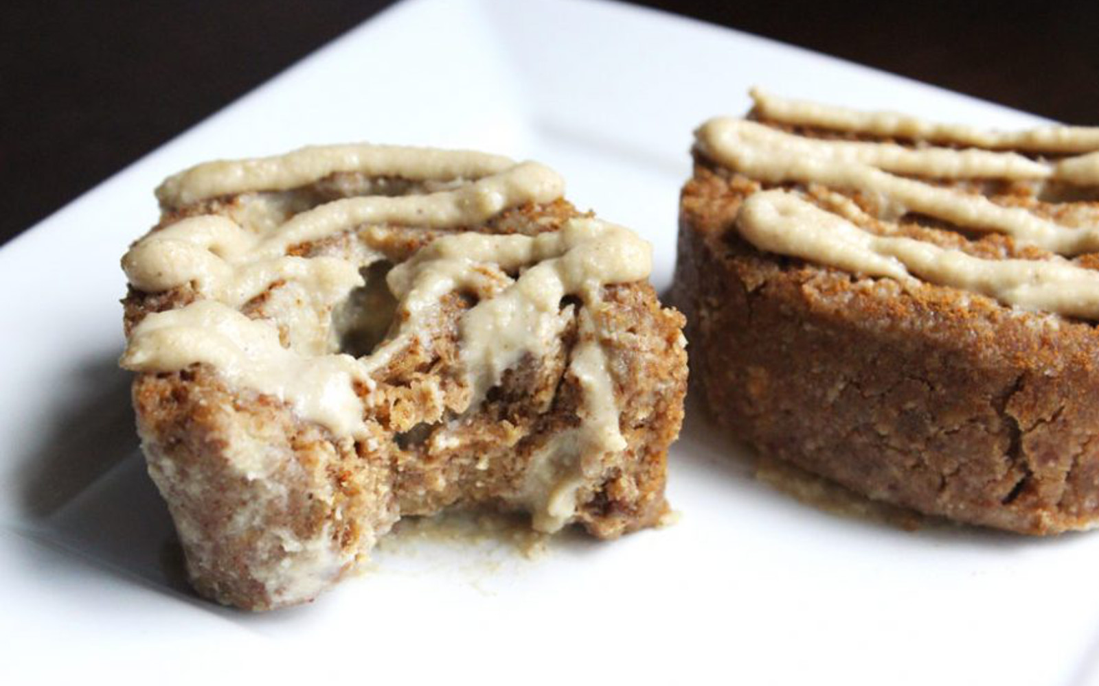 Raw Cheesecake Filled Cinnamon Rolls