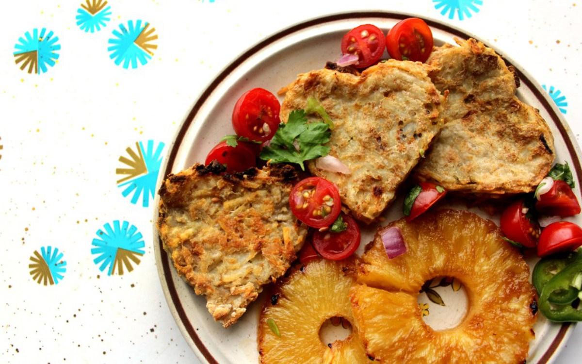 Pico Pineapple Potato Pancakes