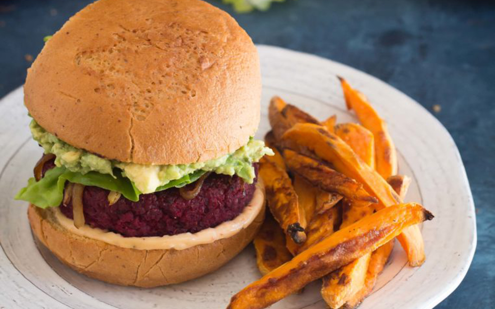 vegan beet chickpea with harissa burgers