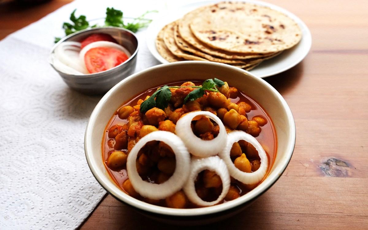 Healthy Chana Masala