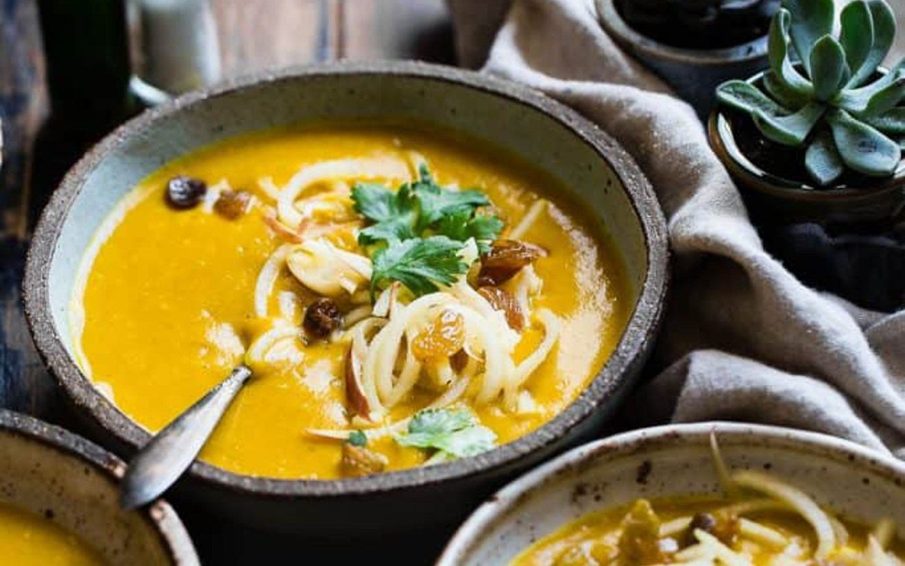 Slow Cooker Kabocha Squash Soup