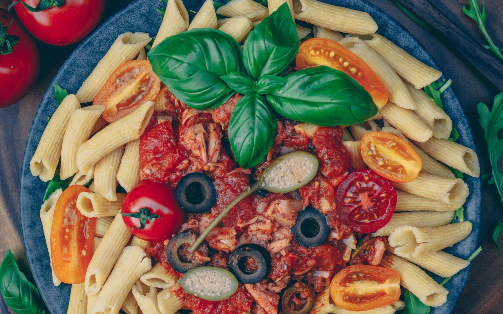 Vegan Pasta Al Tonno: Italian Jackfruit 'Tuna' Pasta