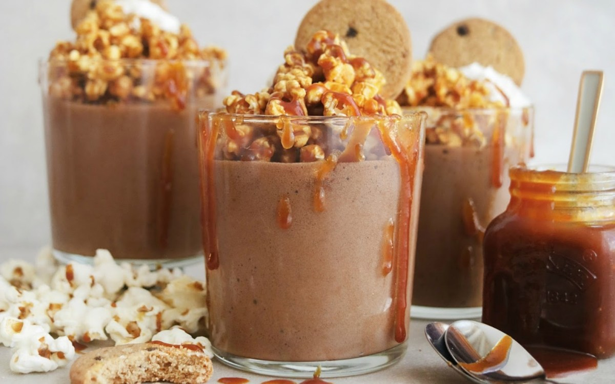 Salted Caramel Chocolate Mousse