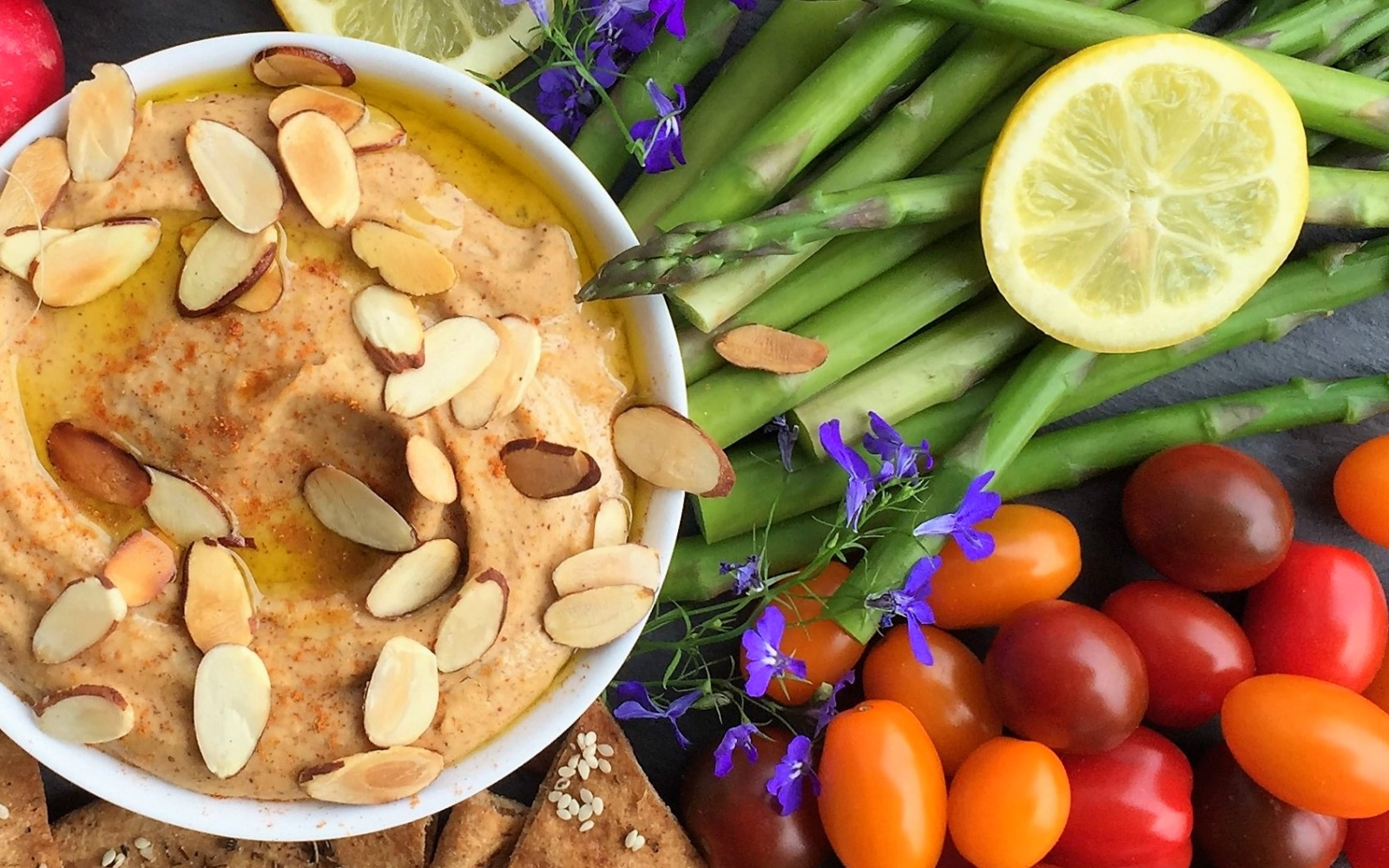 Vegan Almond Lover's Hummus