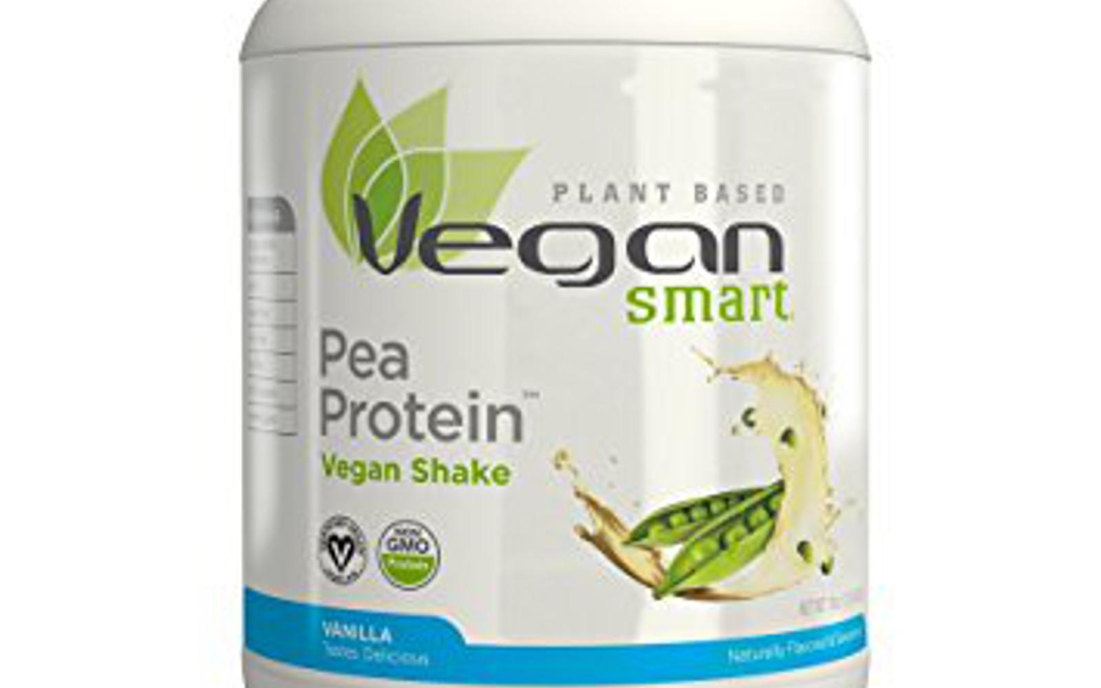 Naturade VeganSmart Pea Protein Vanilla, 19 Ounce
