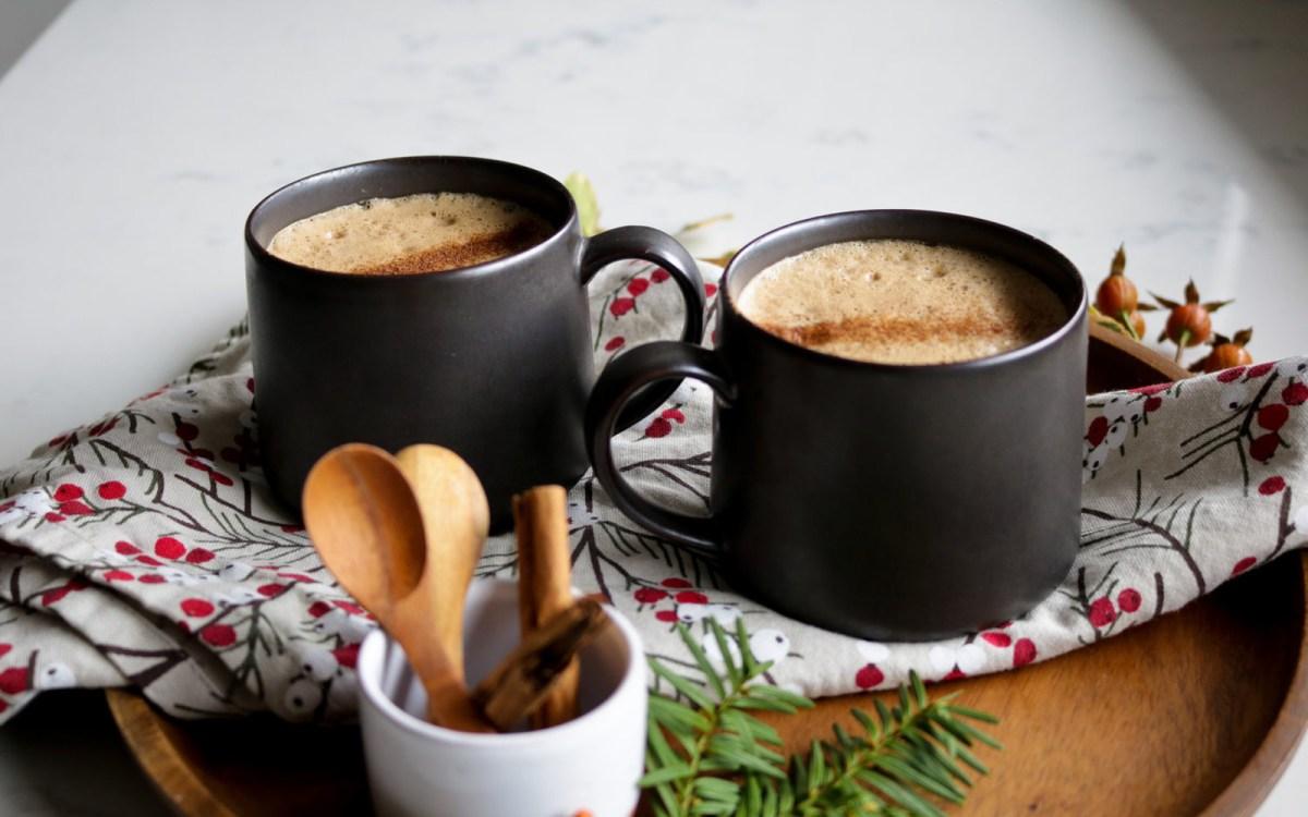 Maple Cinnamon Latte [Vegan, Gluten-Free]
