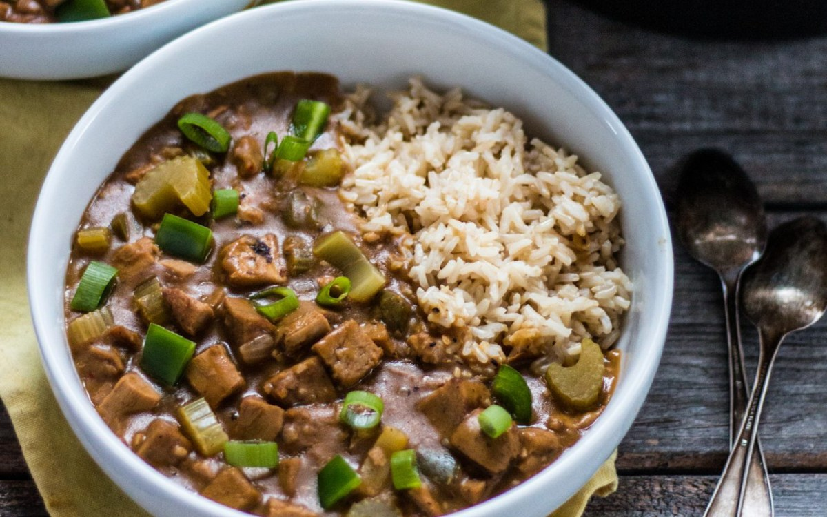 Vegan Spicy Gumbo