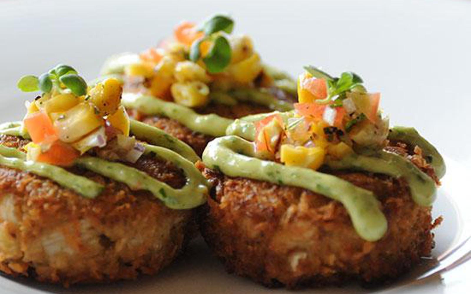 Vegan Crabcakes from Crossroads Kitchen in LA