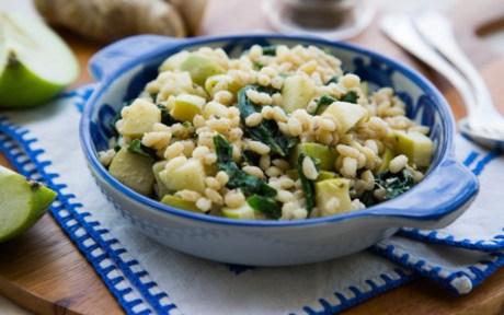 Vegan Green Apple Tahini Quinoa Veggie Bowl