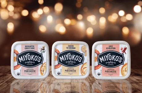 Three New Pub Cheeses from Miyoko's Kitchen