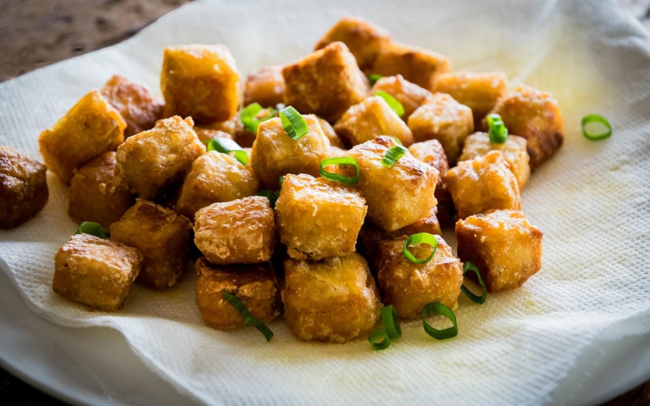 Vegan The Crispiest Tofu