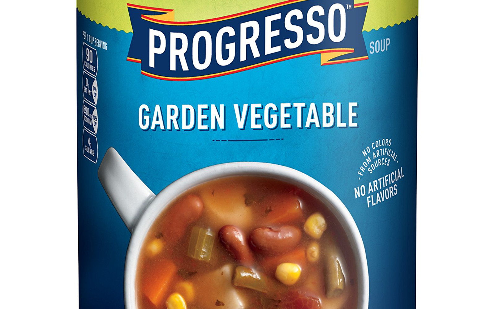 Healthy Amazon Soup Finds for the Vegan College Student | Vegan Progresso Soup, Vegetable Classics, Garden Vegetable Soup, Gluten Free, 18.5 oz Can