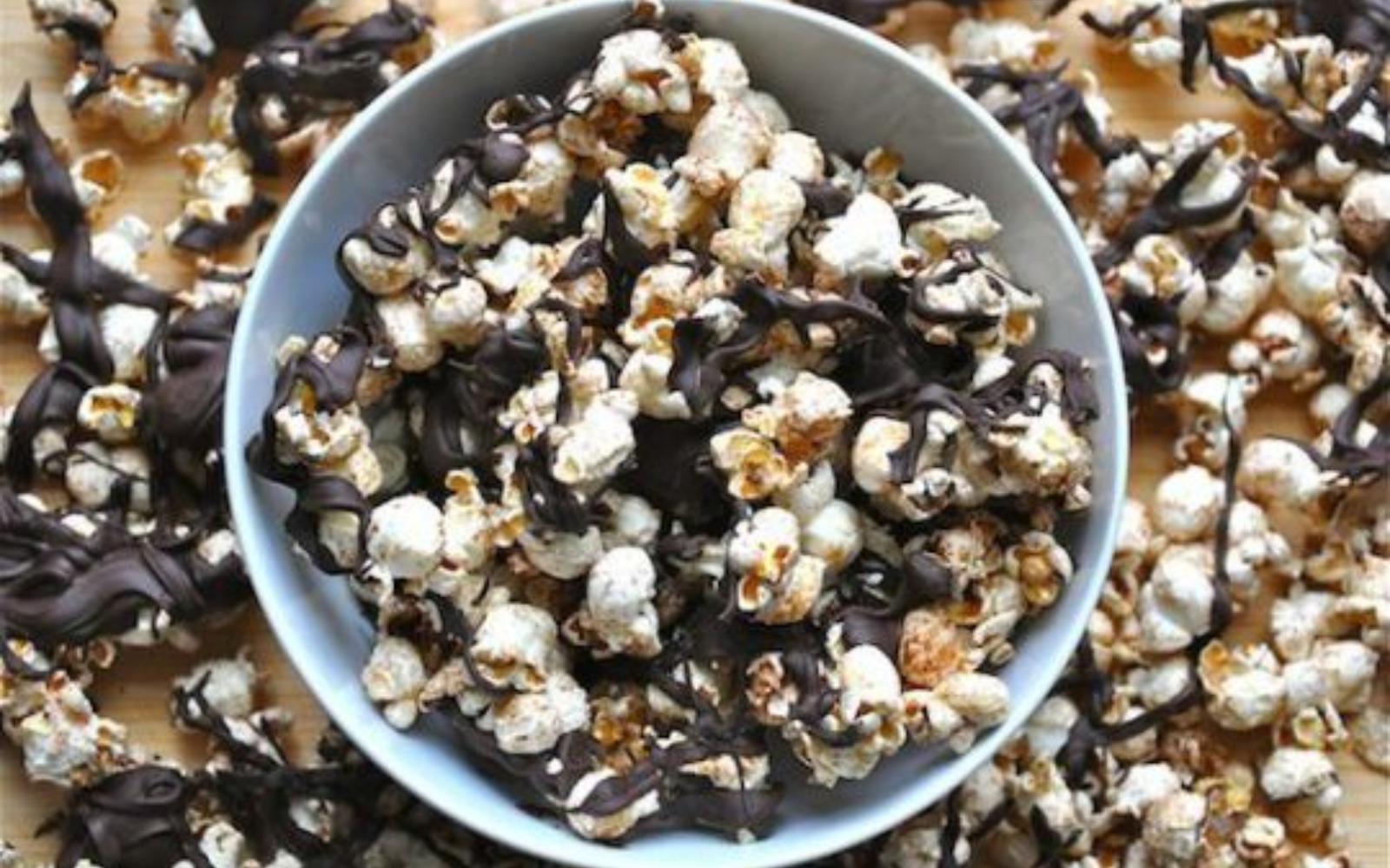 Vegan Bourbon Popcorn