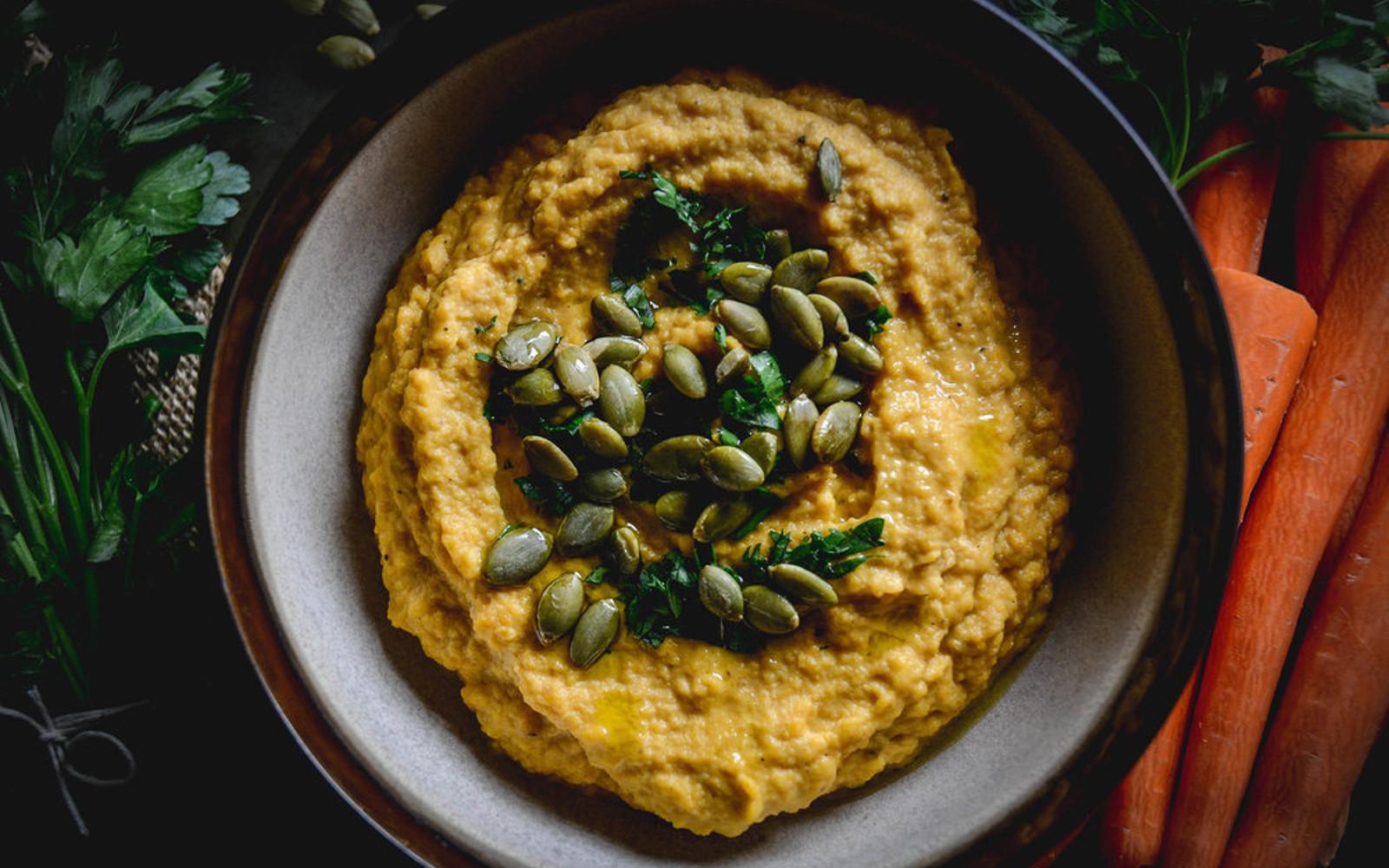 Vegan Butternut Squash Hummus