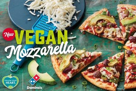 Domino's Vegan Pizza Australia Follow Your Heart Cheese