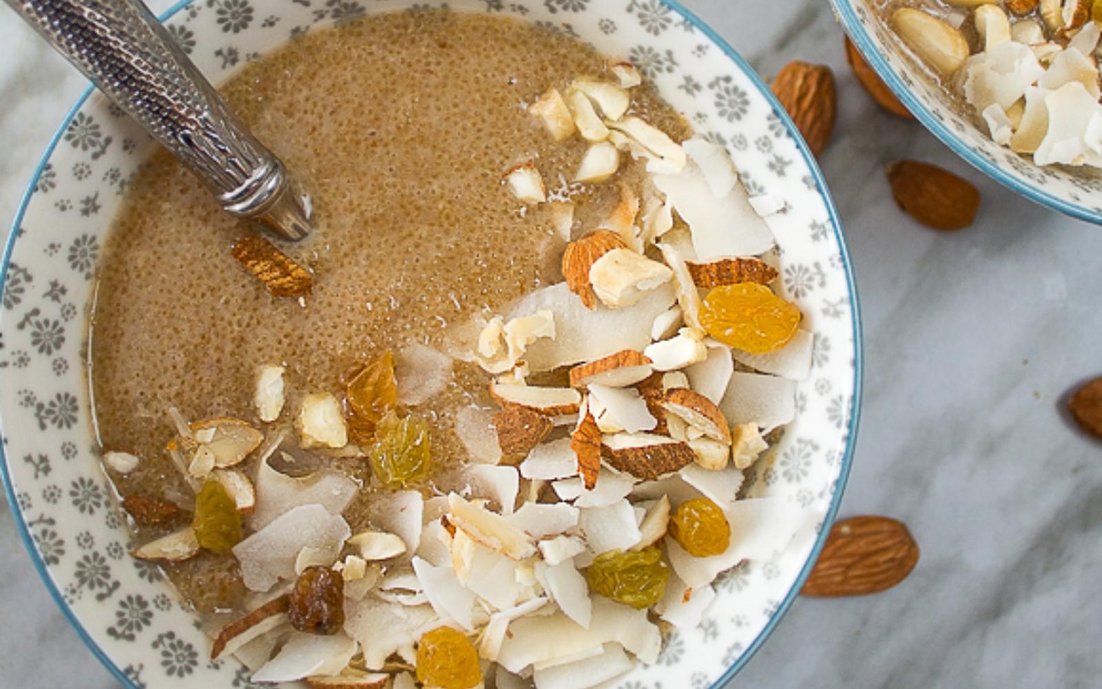 Vegan Amaranth Porridge