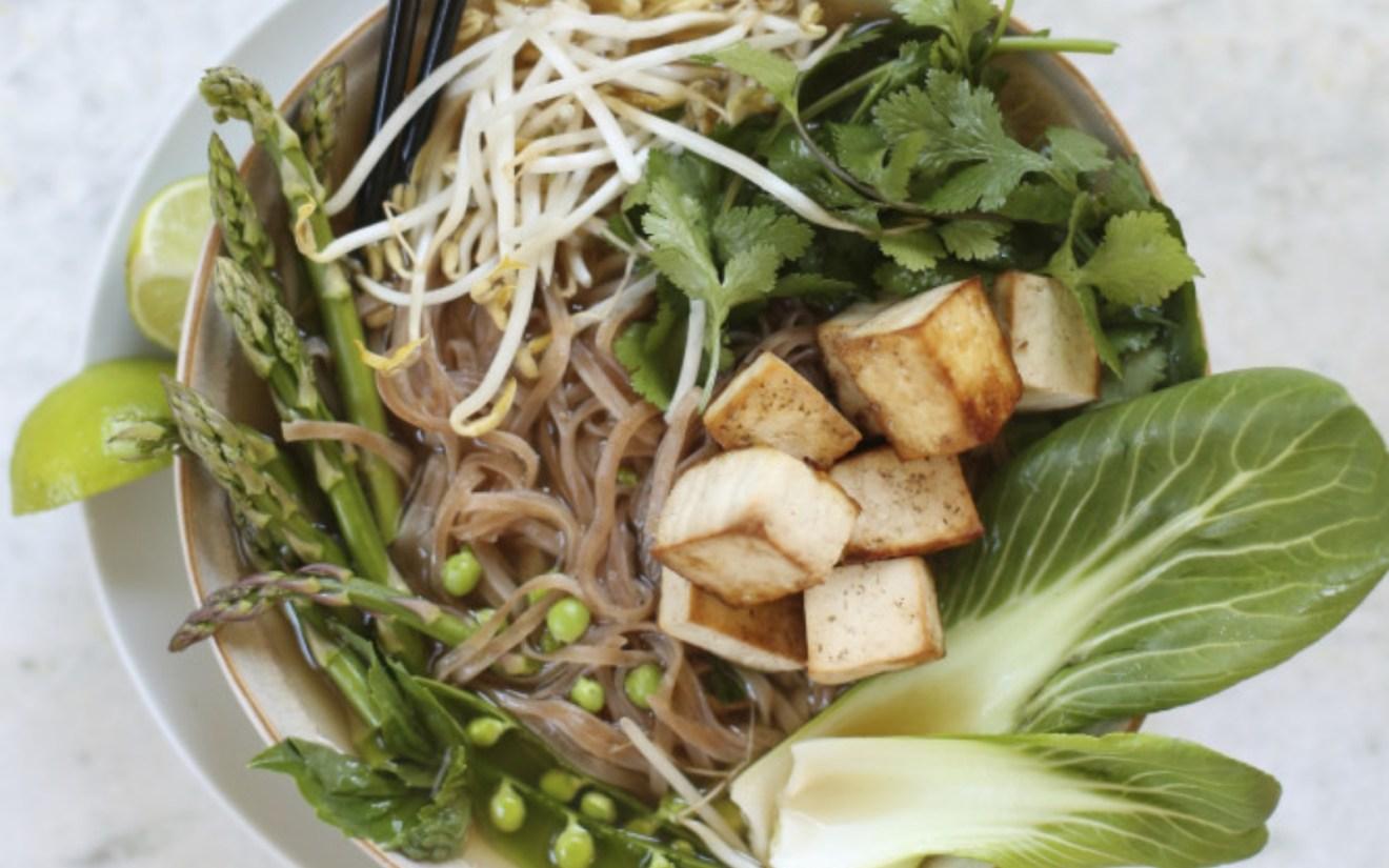Vegan Comforting Veggie and Tofu Pho