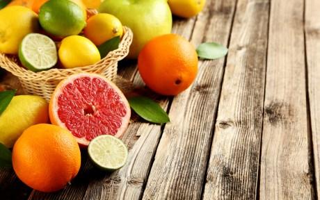 lemons, limes, grapefruits, and oranges