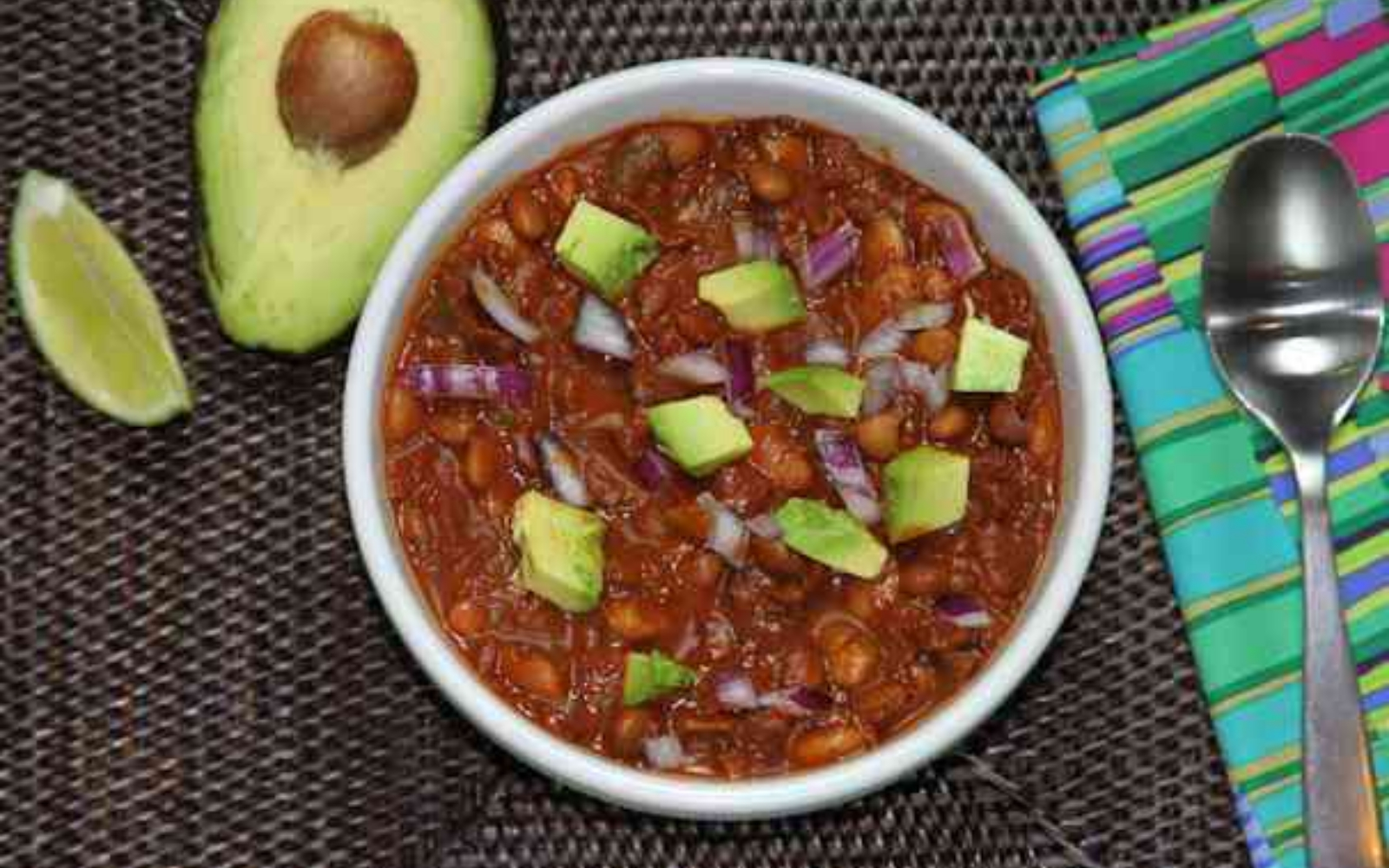Vegan Chocolate Chipotle Chili