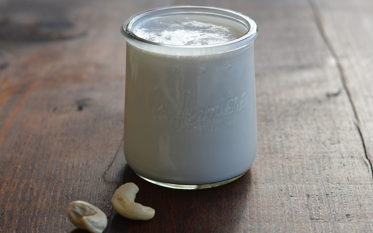 Vegan Super Easy Versatile Cashew Cream (With A 3-Minute Option)
