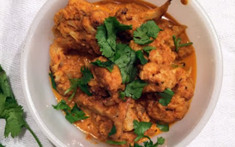 Roasted Cauliflower Tikka Masala