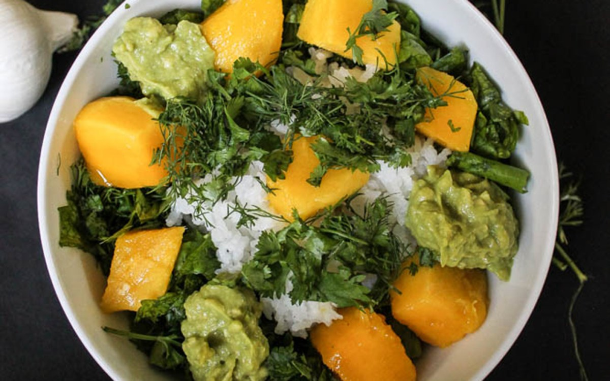 Mango Rice Bowl