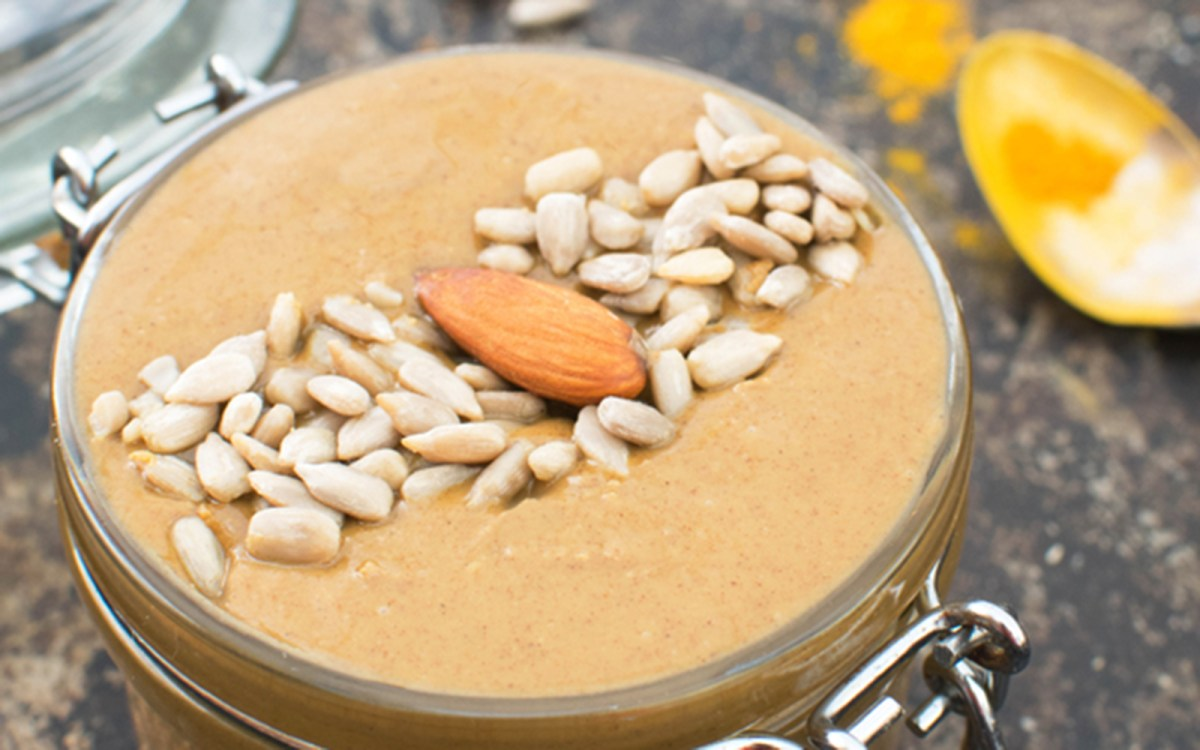 Maple Spiced Almond and Sunflower Seed Butter