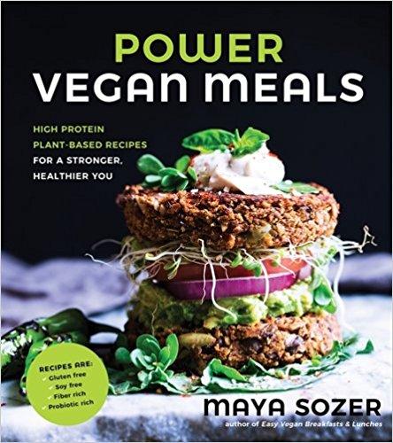 power vegan meals cookbook