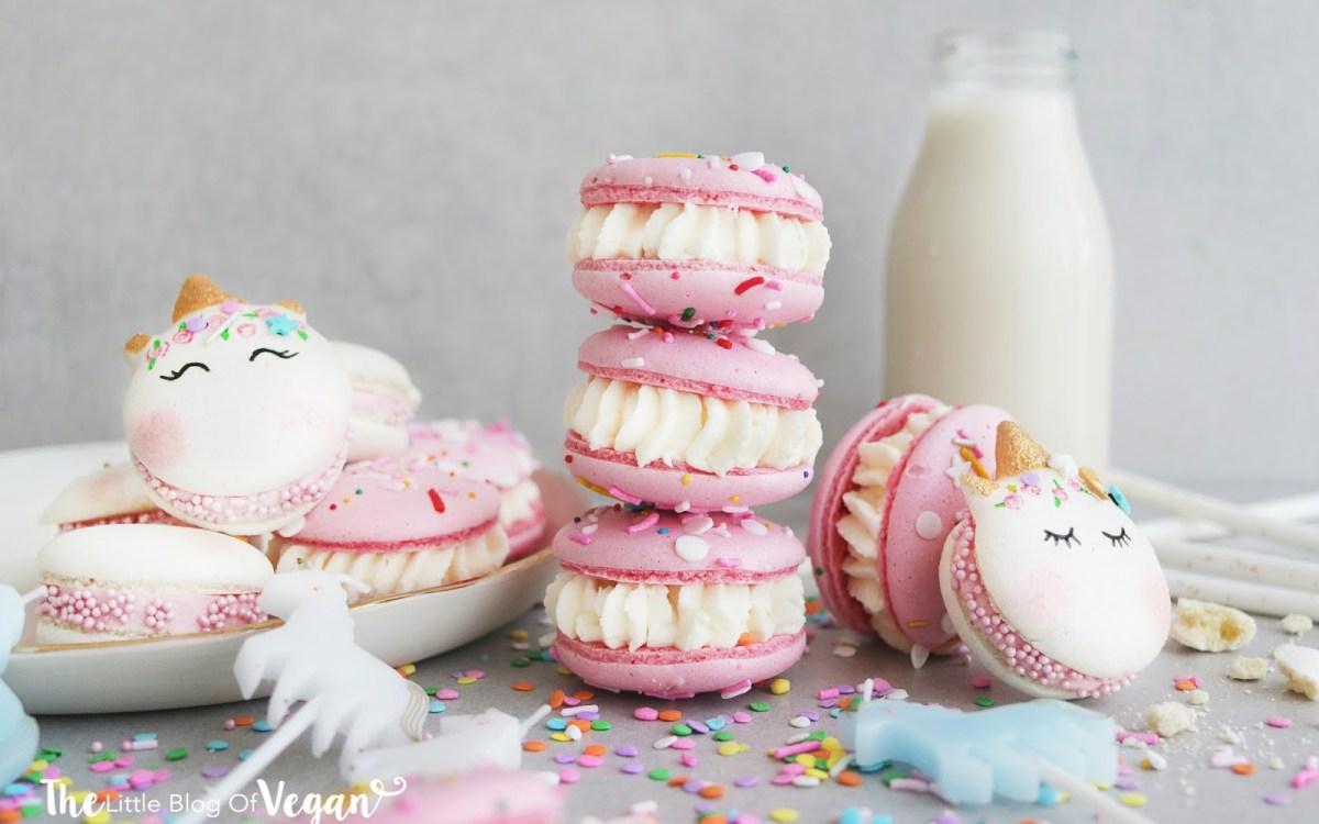 Unicorn Birthday Cake Macarons Vegan Gluten Free Wheat One Green Planet