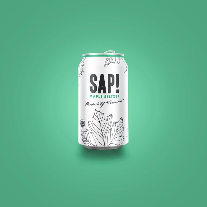 sap maple seltzer