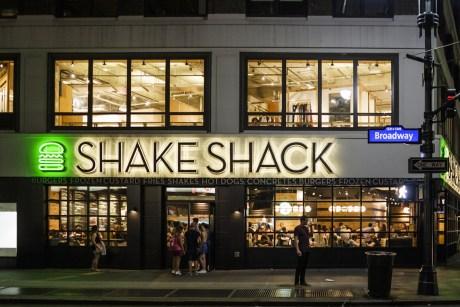 shake shack vibes