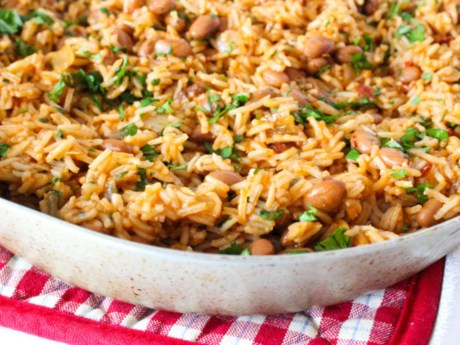 Spicy Rice and Beans