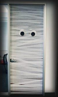 Mummy Door & Halloween Garage Door Decor Halloween Wikii