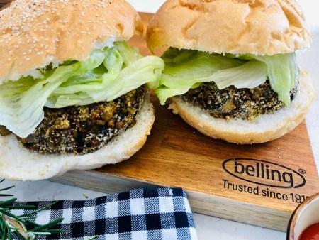 mushrooms, lentils, mushroom burgers, meadow mushrooms