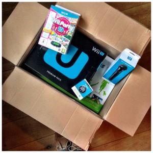 Wii U box