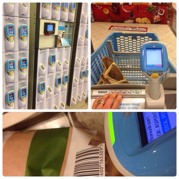 lasergamen Albert Heijn collage