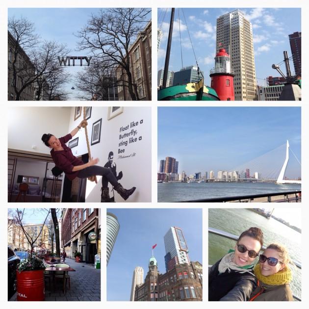 Plog dagje Rotterdam: vuurtoren omhelzen, havenrondvaart, Betsy Palmer