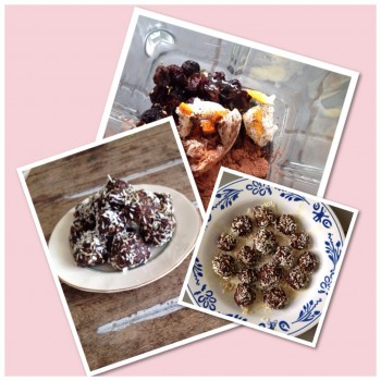 Bliss Balls: simple powerfood treat
