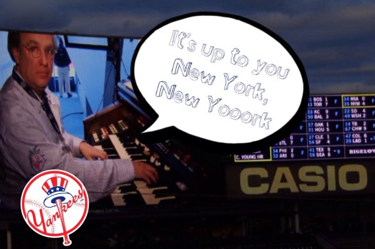 orgelspeler New York Yankees