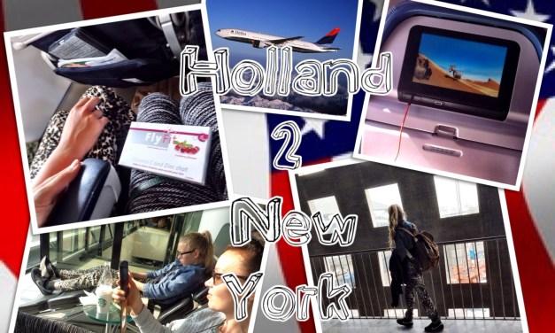 Vliegen van Holland naar New York? Eitje!