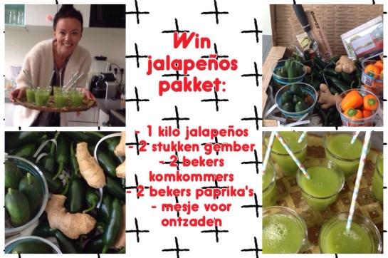 gezonde jalapeño peper pakket winnen
