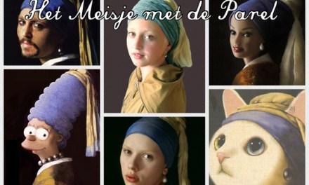 She's alive! Het Meisje met de Parel (Johannes Vermeer)