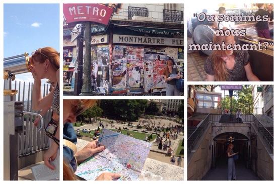 Montmartre Amelie route