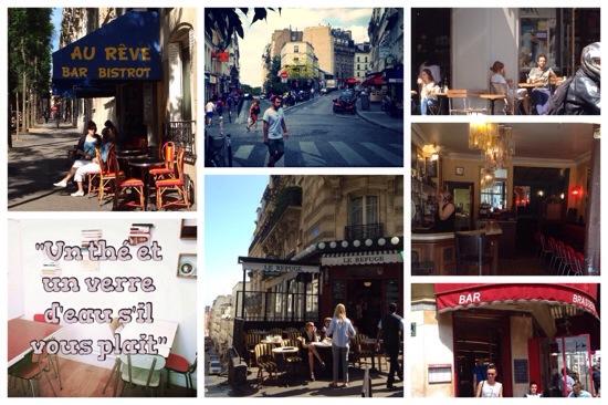Montmartre Parijs Bistrot