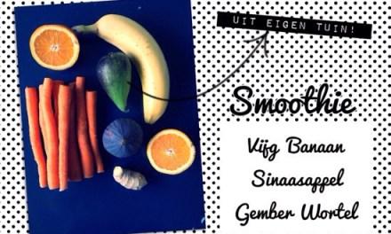 Smoothie wortel vijg: SWEEEET