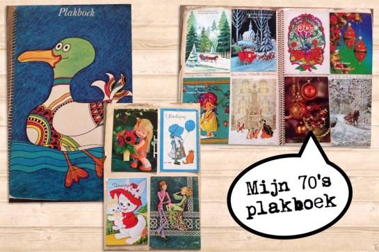 70's plakboek kaarten
