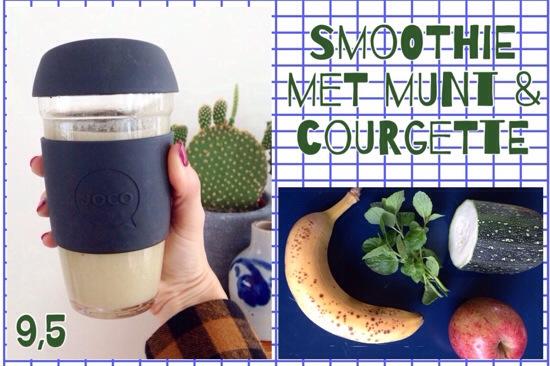 smoothie munt courgette