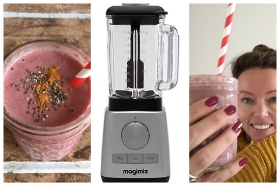Sinterklaas smoothie met Magimix