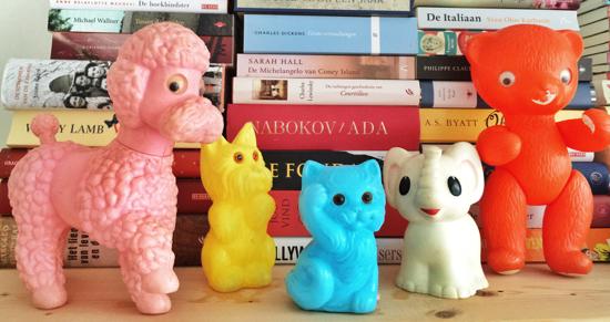 sixties speelgoed dieren